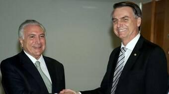 Saiba como Temer usou carta de Jair Bolsonaro para reposicionar sua imagem política
