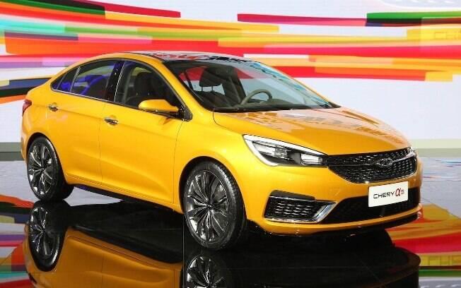 A nova geração do Arrizo, que também pode virar marca, mostra que os chineses cansaram de fazer carros feios.