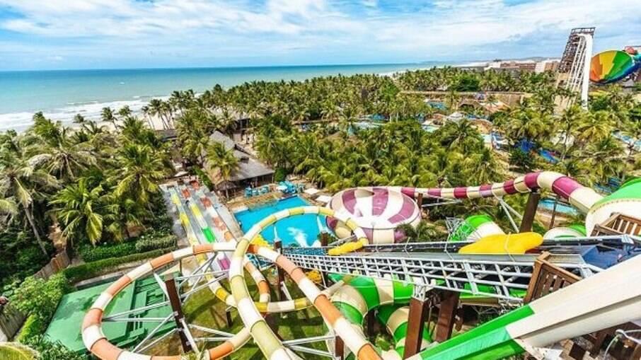 O Beach Park é o maior parque aquático do país