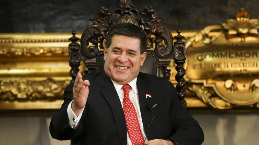 Ex-presidente do Paraguai Horacio Cartes