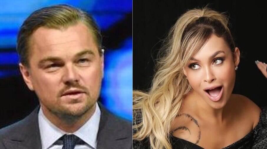 Leonardo DiCaprio e Sarah Andrade