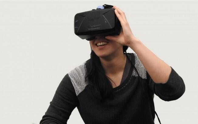 Os óculos de realidade virtual (ou
