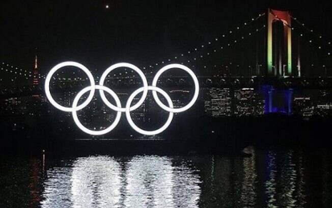 Tóquio inaugura os anéis olímpicos