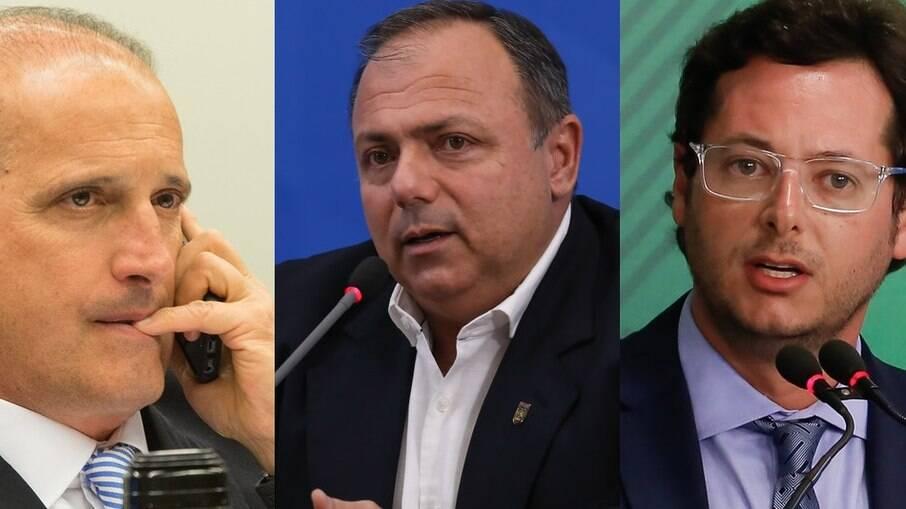 Oposição busca investigação de Onyx, Pazuello e Wajngarten por desvio de R$ 52 milhões