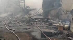 Explosão em fábrica de pólvora deixa 16 mortos