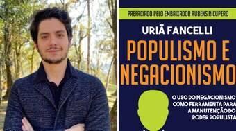Escritor Uriã Fancelli cai nas graças de Ingrid Guimarães e Porchat