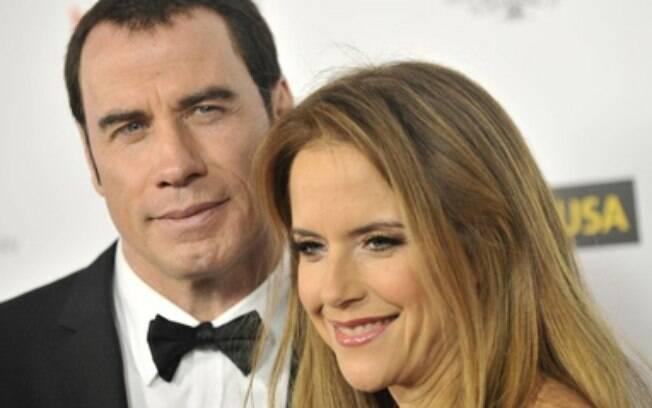 John Travolta e Kelly Preston: casamento sobrevive a muitas histórias de casos gays do marido