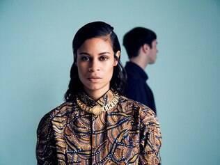 Duo AlunaGeorge, formado em 2009 pela cantora Aluna Francis e pelo instrumentista George Reid