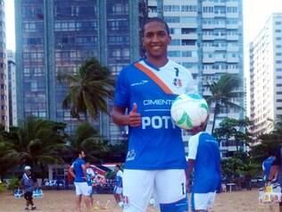 Volante Danilo Pires destacou-se no Santa Cruz com sete gols na Série B do Campeonato Brasileiro