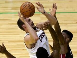 Parceira não foi anunciada durante a vitória do Cleveland por  22 a 119 sobre o Miami Heat