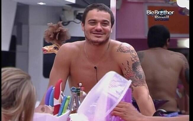 Carioca assume que errou muito com a ex-mulher