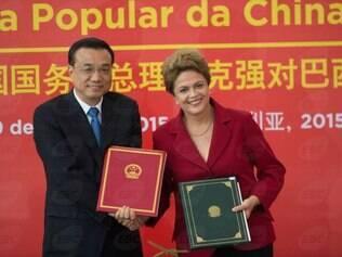 Ao discursar para executivos chineses e brasileiros, o premiê disse que vê oportunidades para aumentar a capacidade produtiva entre os países