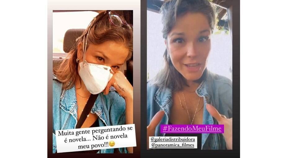 Samara Felippo fala sobre mudança capilar