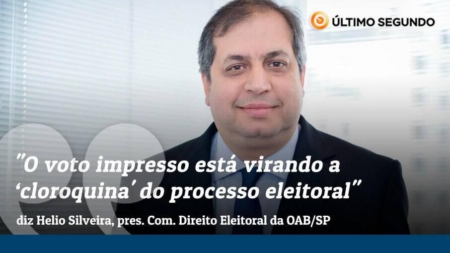 Helio Freitas C. Silveira, presidente da Comissão de Direito Eleitoral da OAB-SP