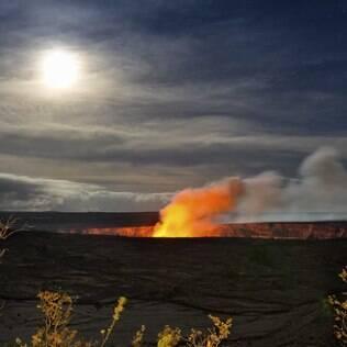O vulcão Kilauea (Big Island) erupciona sem parar desde 1984
