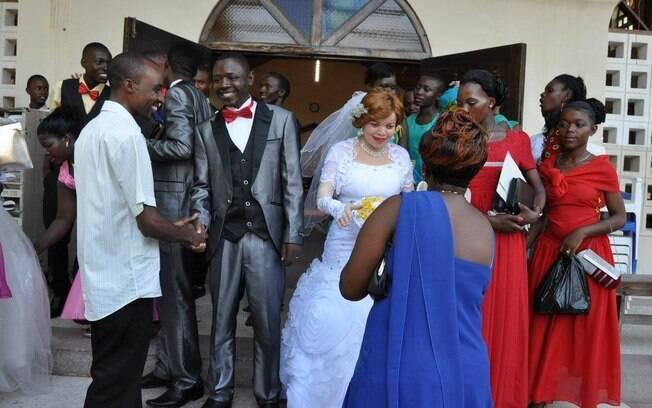 Casamento de uma mulher albina na Tanzânia (arquivo). Foto: Tanzania Albinism Society