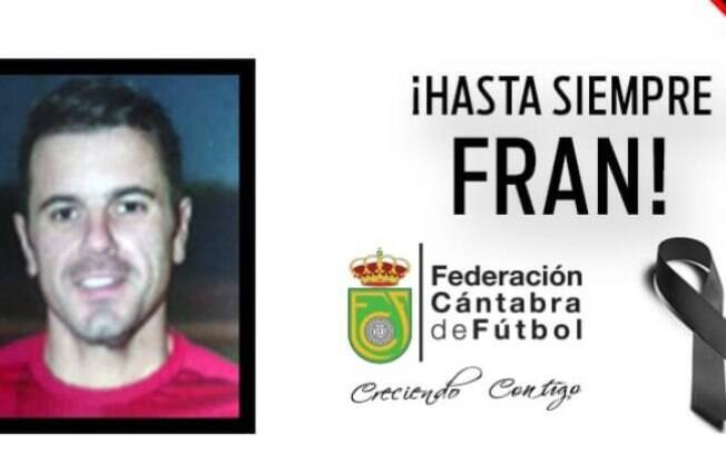 O jogador Francisco Cavada, de 32 anos, passou mal durante partida na Espanha e morreu