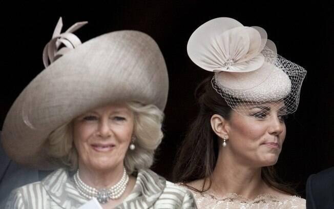 Camilla Parker-Bowles e Kate Middleton no Jubileu: uma delas será a futura rainha da Inglaterra