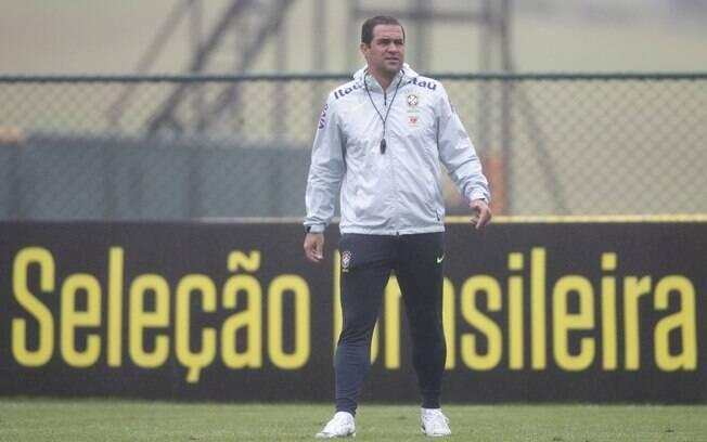 André Jardine é o técnico da seleção olímpica