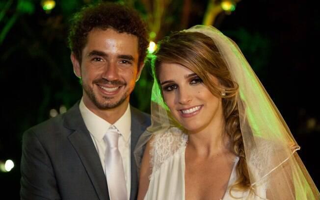 Felipe Andreoli e Rafaella Brites