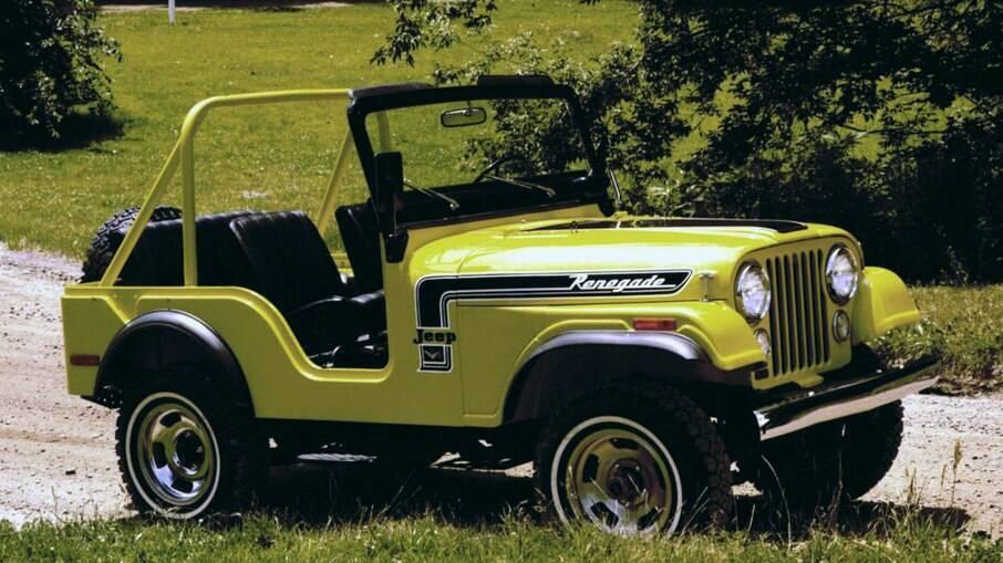 Jeep CJ-5 Renegade: clássico da marca vem com motor V8 a gasolina entre os equipamentos de série