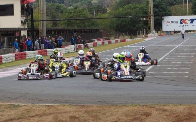 Copa F-Racers 2020 de kart entra na reta final em Paulínia