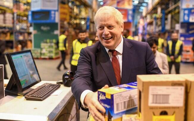 Boris Johnson é o atual primeiro-ministro do Reino Unido