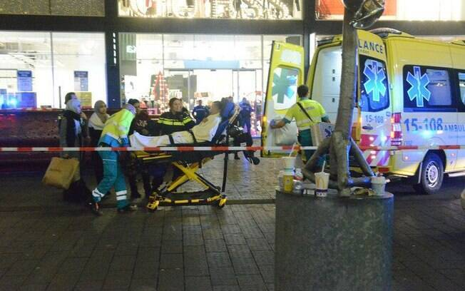O incidente ocorreu na terceira cidade mais populosa da Holanda.