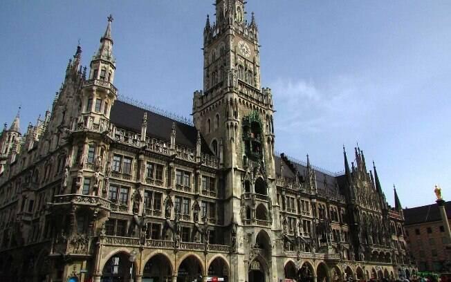 Catedral de Munique (Frauenkirche), localizada na Marienplatz, coração da cidade