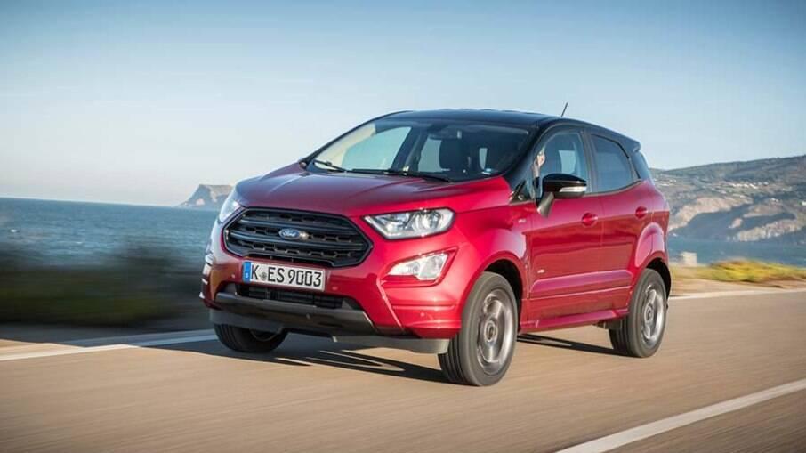 Ford EcoSport a diesel: seria um bom rival para o Jeep Renegade a diesel, não? Mas a versão também não veio ao Brasil