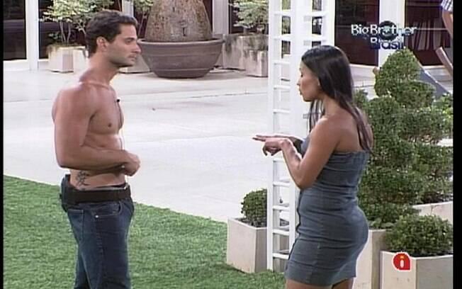 Kelly e Ronaldo falam sobre a briga que protagonizaram no último domingo (05)