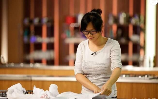 A participante chinesa Jiang Pu conquistou o público durante sua trajetória na segunda edição do