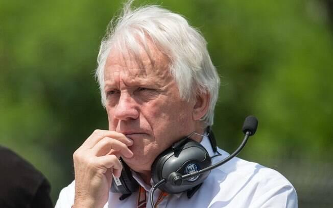 Charlie Whiting era diretor de provas da Fórmula 1 e recebeu homenagem da Indy neste fim de semana