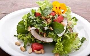Salada thai de melancia