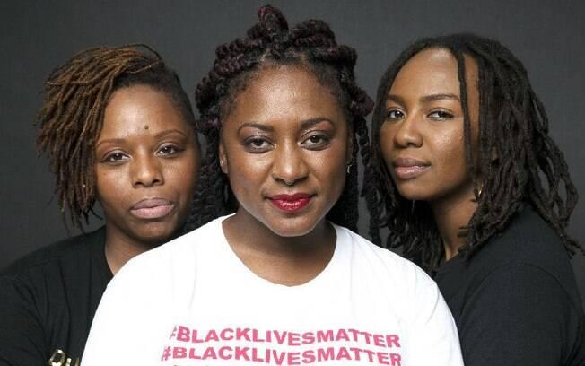 Patrisse Cullors, Alicia Garza e Opal Tometi são as co-fundadoras do movimento Black Lives Matter