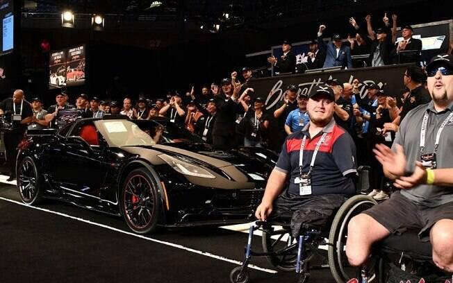 Último Chevrolet Corvette com motor dianteiro é arrematado nos Estados Unidos por US$ 2,7 milhões