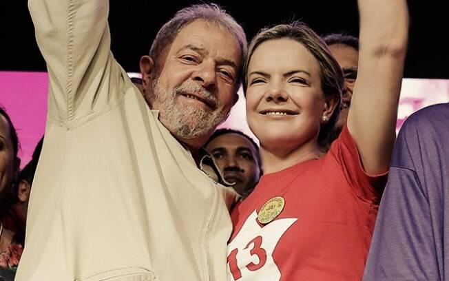 Para Gleisi Hoffmann eventual prisão de Luiz Inácio Lula da Silva