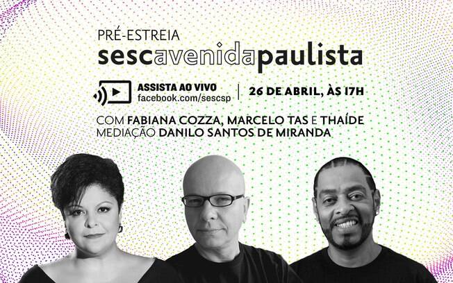 Sesc Paulista prepara