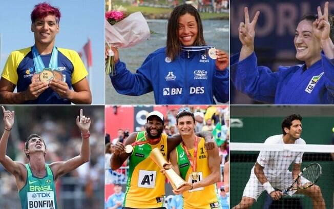 Finalistas do Prêmio Brasil Olímpico 2017