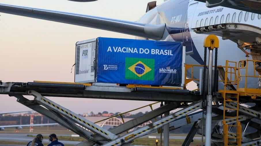 Anvisa autoriza que São Paulo importe 4 milhões de doses prontas da Coronavac