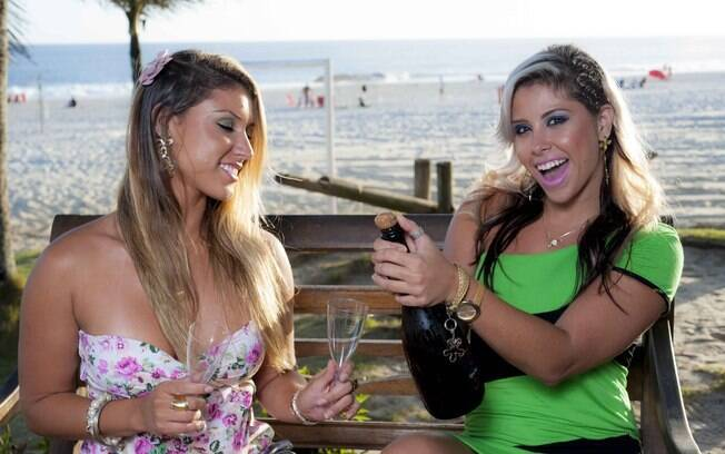 Jessyca e Grazy Bastos, as irmãs