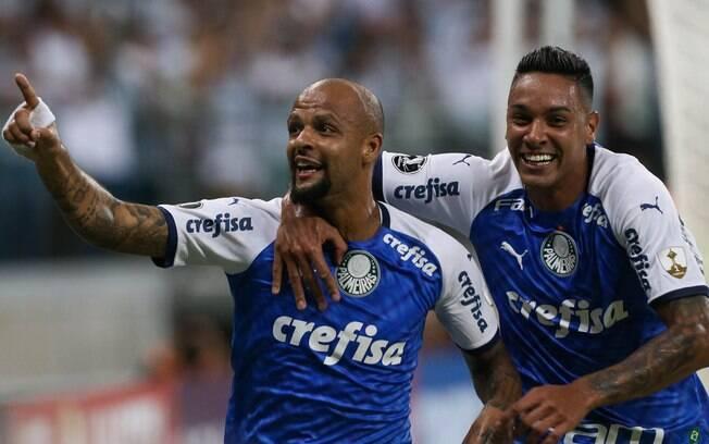 Volante abriu o placar da fácil vitória do Palmeiras sobre o Melgar nesta terça-feira