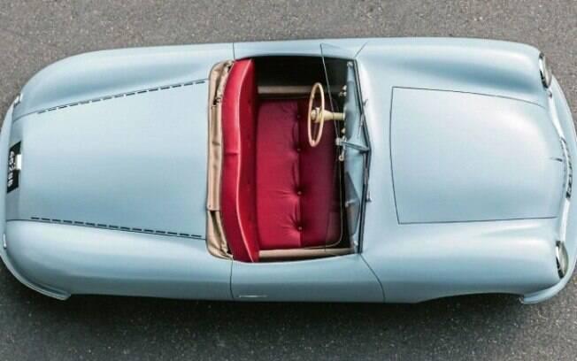 Anos depois, entra para o acervo da Porsche a mesma perspectiva, que marca a volta da fabricante às origens
