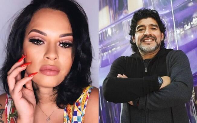 Ex-BBB Ariadna diz que Maradona nunca será um herói