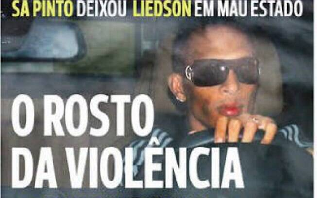 capa jornal liedson
