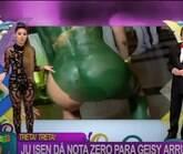 """Geisy Arruda se defende em polêmica: """"Respeitem meu fiofó"""""""