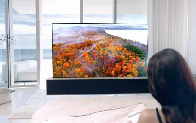 TV 'enrolável' da LG está à venda na Coreia do Sul por quase R$ 500 mil