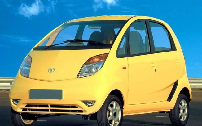 Além de figurar na lista de carros pequenos, o Tata Nano é conhecido por ser o mais barato do mundo