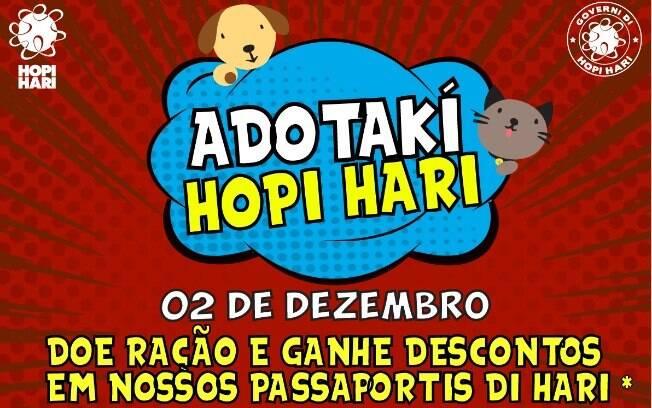 Hopi Hari faz primeira feira de adoção, e ração vale desconto no passaport