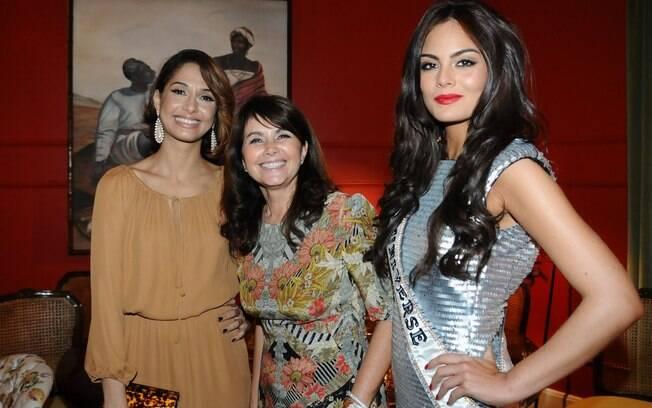 Camila Pitanga, Tânia Bulhões e Ximena Navarrete